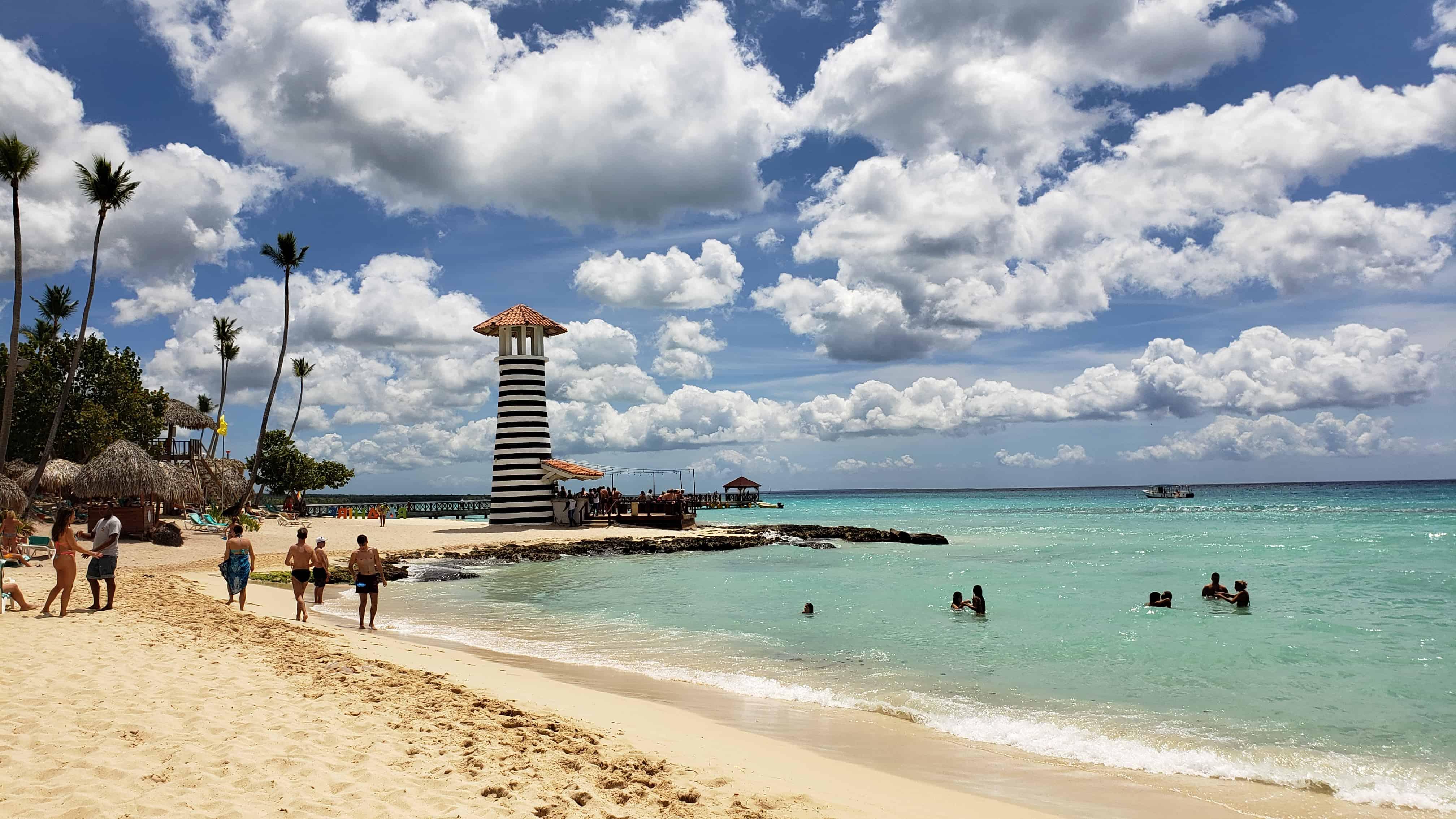 Playa de Bayahibe en República Dominicana