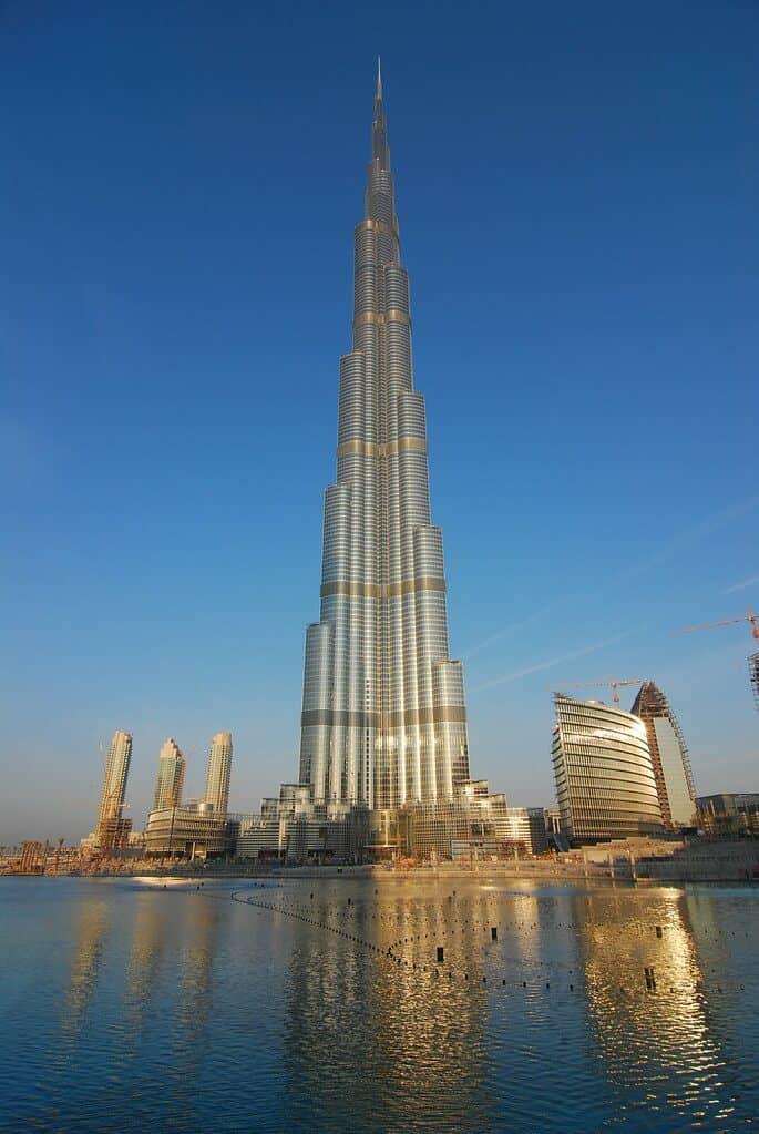 5 récords Guiness del mundo. Dubai: el edificio más alto del mundo