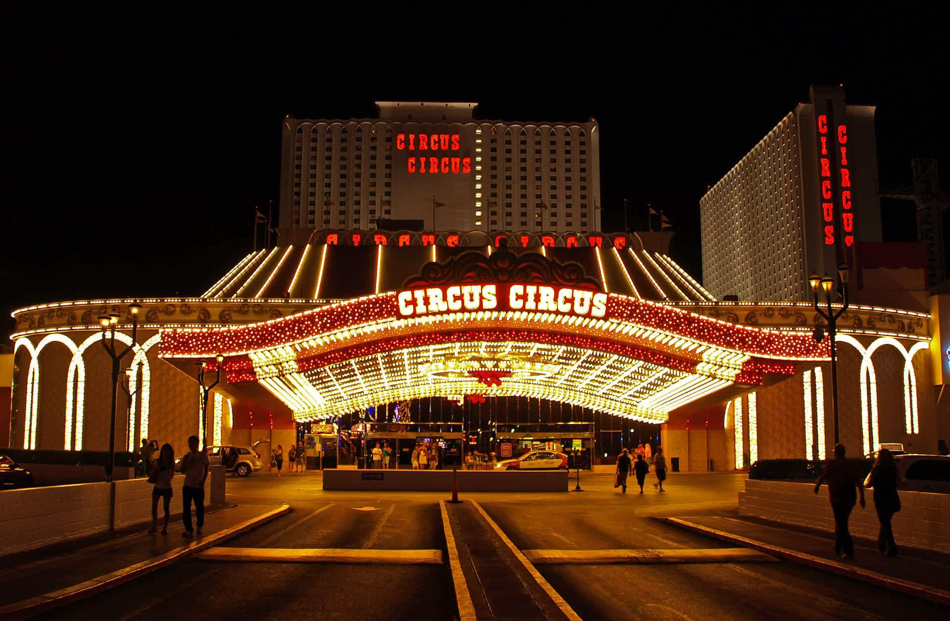 Hotel-circus-circus-Las-Vegas-atracciones-gastronomía-circo-