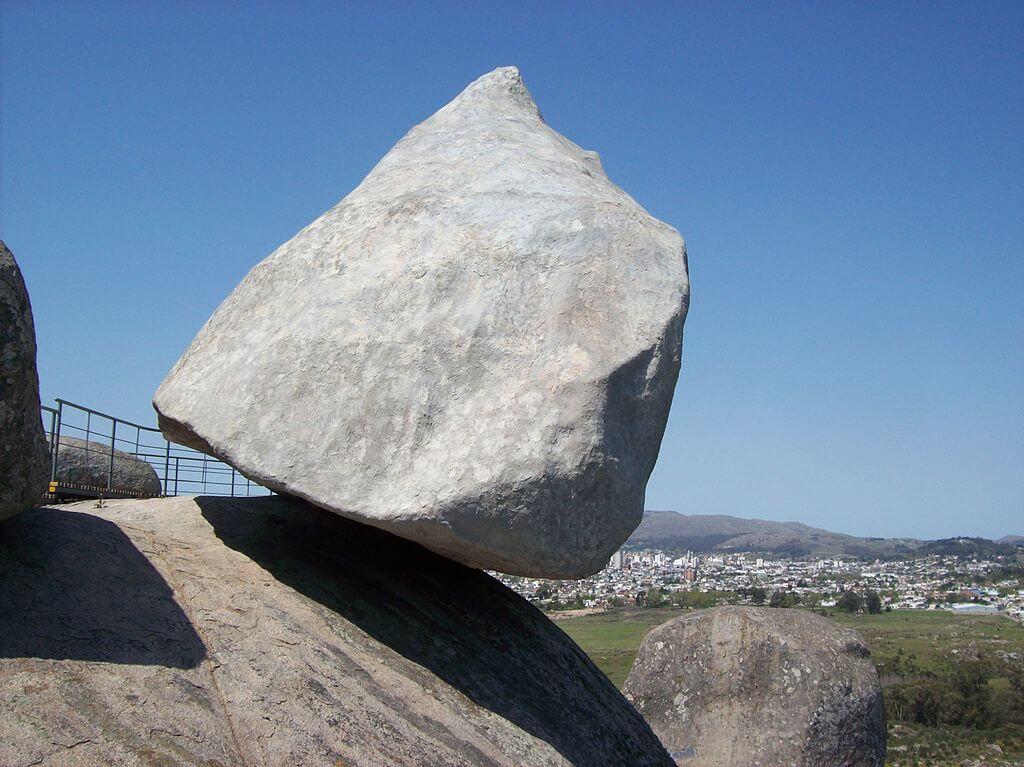 Tandil La piedra movediza