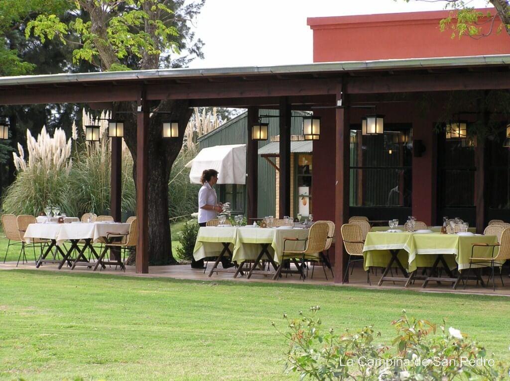 La Campiña de San Pedro, restaurante