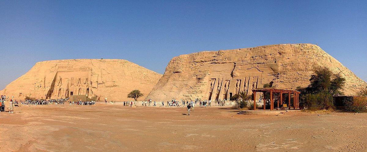 Templo Mayor y Templo Menor en Abu, Simbel. Egipto