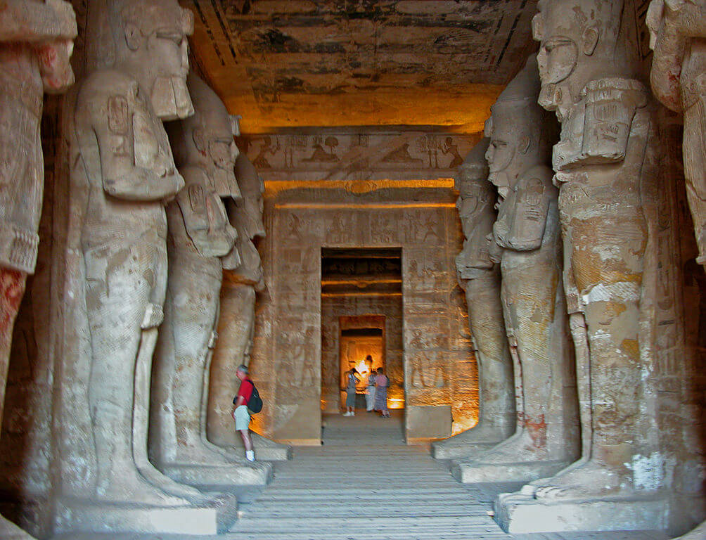 Interior de Abu Simbel
