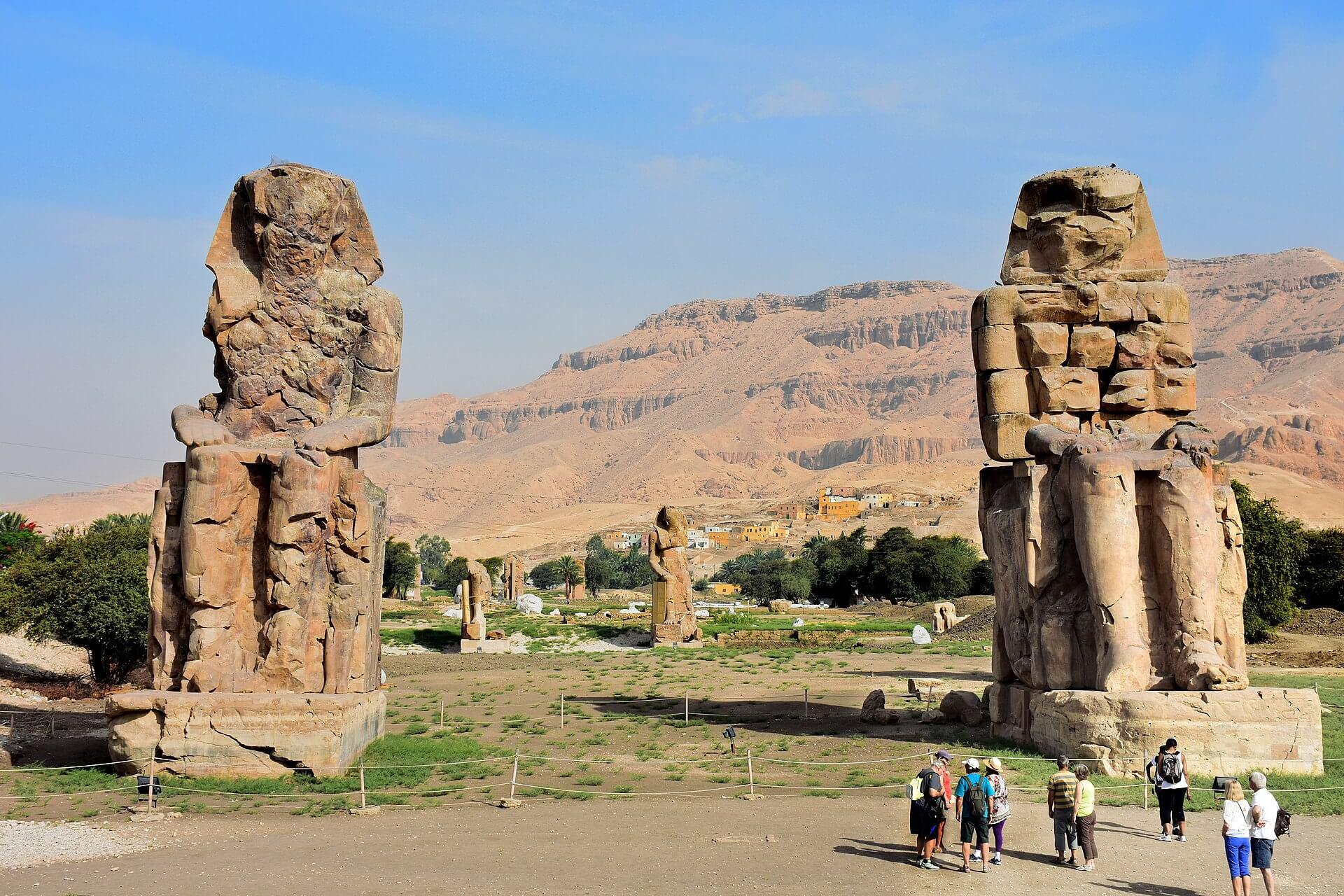 Qué ver en Luxor: los colosos de Memnón