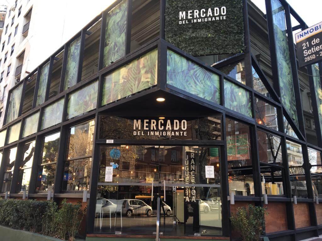 Montevideo: dónde comer en mercados gastronómicos. Mercado del Inmigrante